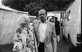 Dizzy Reece, Pendley Int. Jazz Festival, Herts, July 1985.