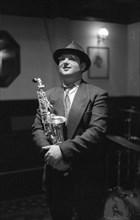 Michael Hashim, Watermill Jazz Club, Dorking, Surrey, Nov 1995. Creator: Brian O'Connor.