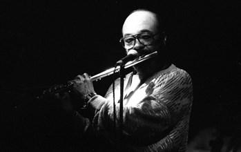 James Moody, Ronnie Scott's Jazz Club, Soho, London, Apr 1987. Creator: Brian O'Connor.