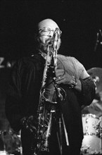James Moody, Ronnie Scott's Jazz Club, Soho, London, July 1989. Creator: Brian O'Connor.