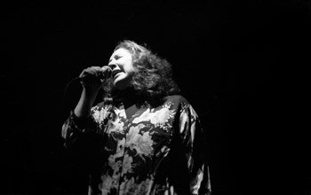 Flora Purim, Ronnie Scott's Jazz Club, Soho, London, Jan 1995. Creator: Brian O'Connor.