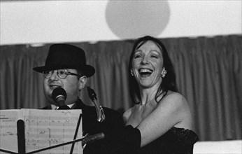 Michael Hashim, Tess Garraway, De La Warr Pavilion, Bexhill, East Sussex, Dec 1997. Creator: Brian O'Connor.