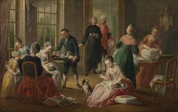 Afternoon tea (Het vieruurtje), 1778. Creator: Garemijn (Garemyn), Jan Anton (1712-1799).