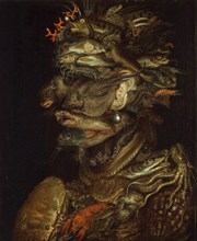 Allegory of water, ca 1566. Creator: Arcimboldo, Giuseppe, Circle of  .