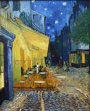 Café Terrace at Night (Terrasse du café le soir), 1888. Creator: Gogh, Vincent, van (1853-1890).