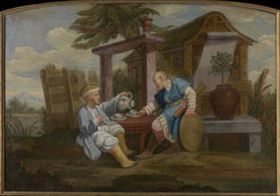 Chinoiserie, Mid of the 18th cen.. Creator: Anonymous.
