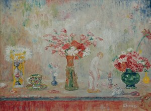 Fantastic still life, c. 1917. Creator: Ensor, James (1860-1949).