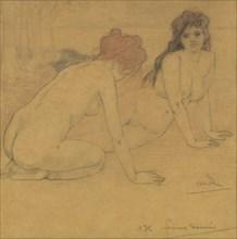 Femmes damnées (Damned Women), 1899. Creator: Rassenfosse, Armand (1862-1934).