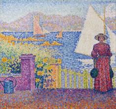 Gate (Saint-Tropez). Creator: Signac, Paul (1863-1935).