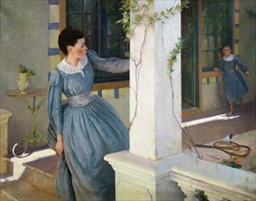 Hide and seek, 1890. Creator: Rosset-Granger, Édouard (1853-1934).