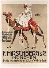 Hirschberg & Co. Sports and travel clothing, 1907. Creator: Hohlwein, Ludwig (1874-1949).