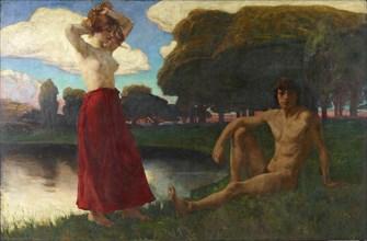 Idyll, 1894-1895. Creator: Hofmann, Ludwig, von (1861-1945).