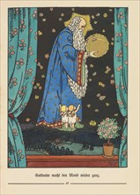 """Illustration for """"Der Buntscheck"""" by Richard Dehmel, 1904. Creator: Weiss, Emil Rudolf (1875-1942)."""