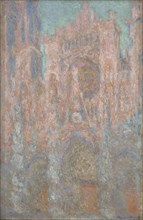 La cathédrale de Rouen. Fin d'après midi (The Rouen Cathedral. Late afternoon), 1893. Creator: Monet, Claude (1840-1926).