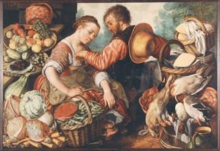 Market scene, 1567. Creator: Beuckelaer, Joachim (ca. 1533-1574).