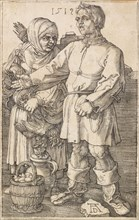 The Peasant and His Wife at Market, 1519. Creator: Dürer, Albrecht (1471-1528).