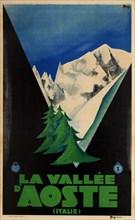Vallée d'Aoste, 1931. Creator: Maga (Magagnoli), Giuseppe (1878-1933).