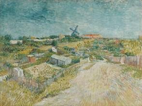 Vegetable Gardens in Montmartre, 1887. Creator: Gogh, Vincent, van (1853-1890).