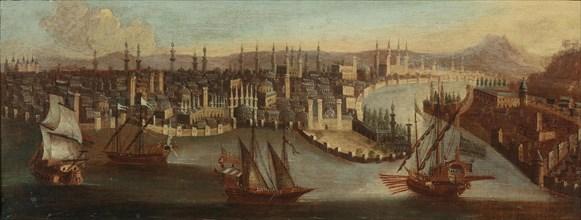 View of Constantinople. Creator: Jode, Hans de (1630-1663).