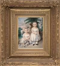 Watson Van Benthuysen II and Thomas Van Benthuysen, ca. 1837. Creator: Aramenta Dianthe Vail.