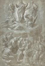 The Transfiguration, after Raphael, 1511-51. Creator: Biagio Pupini.