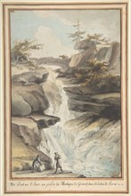 A Bridge on the Aar, at the Foot of the Grimsel, in the Canton of Berne, ca. 1775. Creator: Caspar Wolf.