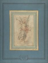 Allegorical Figure of Fame, ca. 1590. Creator: Giuseppe Cesari.