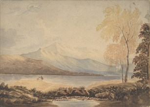 Lakeland Landscape, early 19th century. Creator: Formerly attributed to Copley Fielding.