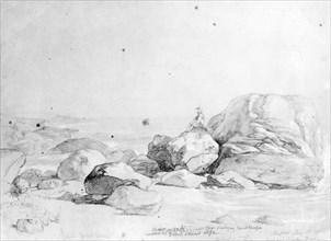 Mr. Mason by the Sea, 1849. Creator: Daniel Huntington.