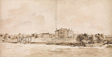 The Villa Loredan, near Treviso, ca. 1778. Creator: Francesco Guardi.