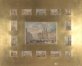 Fifteen Architectural Subjects: Views of Munich, 1835. Creator: Heinrich Adam.