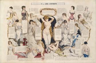 Etudes sur les femmes, 1882-90. Creator: Henri de Montaut.
