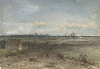 View of Haarlem from the Dunes, mid-19th-early 20th century. Creator: Jan Hendrik Weissenbruch.