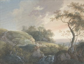 The Morning, 1732-67. Creator: Johann Georg Wagner.