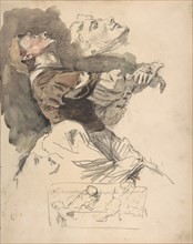 Study of a Female Dancer, late 19th-early 20th century. Creator: Otto Greiner.