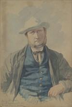 Portrait of Mr. George Bailey, 1855. Creator: Richard Dadd.