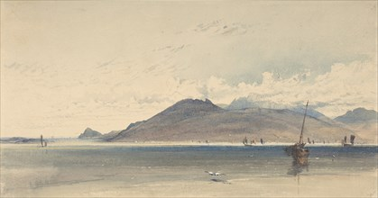 Isle of Arran, Early Morn, 1830-39. Creator: Thomas Miles Richardson I.