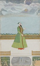 Nobleman on a Terrace, ca. 1780. Creator: Unknown.