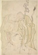 Two Lohans, ca. 1480. Creator: Unknown.