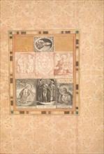 Seven Devotional Scenes, Folio from the Bellini Album, ca. 1600. Creator: Unknown.