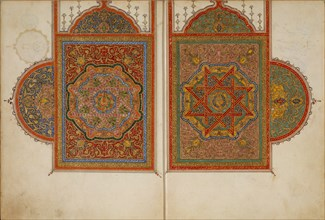 A Manuscript of Five Sections of a Qur'an, 18th century. Creator: Unknown.