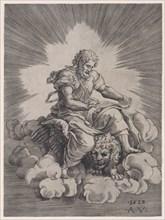 Saint Mark, dated 1518. Creator: Agostino Veneziano.
