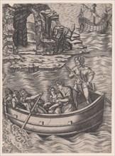 The Bark, ca. 1514-36. Creator: Agostino Veneziano.