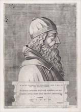 Speculum Romanae Magnificentiae: Aristotle, 1553., 1553. Creator: Anon.