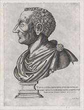 Speculum Romanae Magnificentiae: Bust of Livy, 1582., 1582. Creator: Giovanni Ambrogio Brambilla.