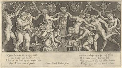 Speculum Romanae Magnificentiae: Sacrifice to Priapus, 16th century., 16th century. Creator: Master of the Die.