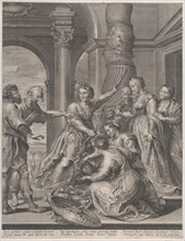 Achilles and the daughters of Lycomedes, ca. 1620-26., ca. 1620-26. Creator: Nicolaes Ryckmans.