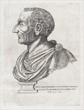 Speculum Romanae Magnificentiae: Bust of Livy, 1582., 1582. Creator: Unknown.