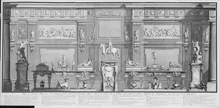 La Galerie de Girardon, 18th century., 18th century. Creator: Nicolas Chevalier.