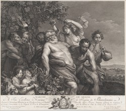 The Triumph of Silenus, 1775-78., 1775-78. Creator: Nicolas de Launay.